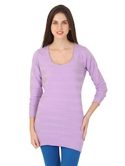 Puma Women Lavender Sweater