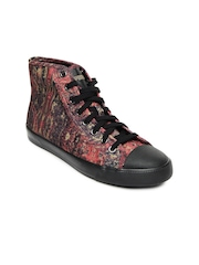 Puma Women Multicoloured Alexander McQueen Rush Mid Marble Casual Shoes