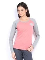 Puma Women Pink T-shirt