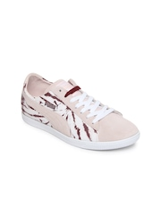 Puma Women Pink Glyde Lo Dyed Casual Shoes