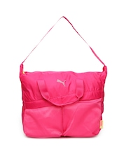 Puma Women Pink Gym Workout Bag