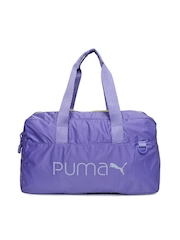 Puma Women Lavender Core Grip Duffle Bag