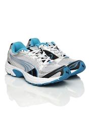 Puma Women Silver Exis II Running Shoes