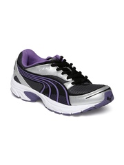 Puma Women Grey Axis II WNS DP Sports Shoes