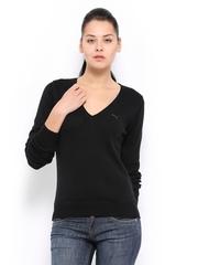 Puma Women Black Sweater