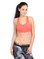 Puma Coral Pink Gym Sports Bra 51202202
