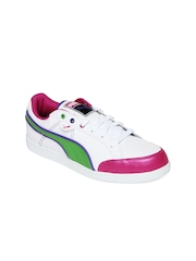 Puma Women White IKAZ Lo Casual Shoes