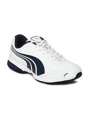 Puma Men White Roadstar XT DP Training Shoes