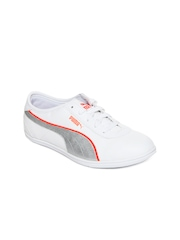 Puma Women White Whitley Sports Shoes
