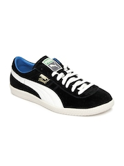 Puma Men Black Suede Brasil Football Vntg Casual Shoes