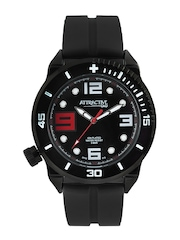 Q&Q Attractive Men Black Dial Watch