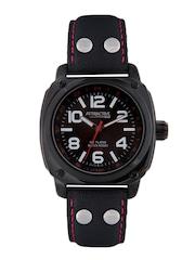 Q&Q Attractive Men Black Dial Watch