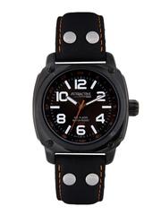 Q&Q Attractive Men Charcoal Grey Dial Watch