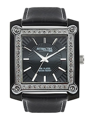 Q&Q Attractive Women Black Dial Watch