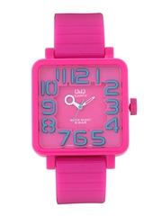 Q&Q Kids Pink Dial Watch