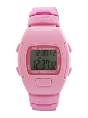 Q&Q Girls Pink Digital Watch