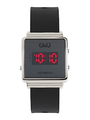 Qamp;Q Men Black LED Digital Watch available at Myntra for Rs.1095