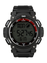 Q&Q Men Black Digital Watch
