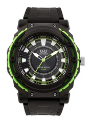Q&Q Men Charcoal Grey Dial Watch