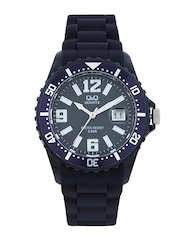 Q&Q Men Black Dial Watch