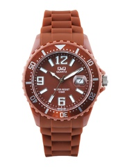 Q&Q Men Brown Dial Watch
