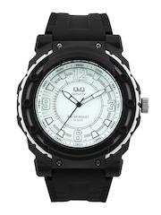 Q&Q Men White Dial Watch