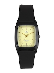 Q&Q Men Yellow Dial Watch