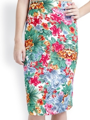 RIDRESS Multi-Coloured Pencil Skirt