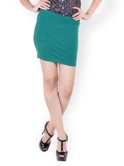 Rattrap Teal Green Mini Skirt
