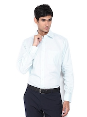 Raymond Men Blue Contemporary Fit Formal Shirt