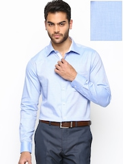 Raymond Men Blue Slim Fit Formal Shirt