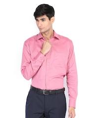 Raymond Men Pink Contemporary Fit Formal Shirt