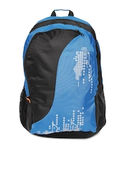 Red Chilli Unisex Black & Blue Jazz Backpack