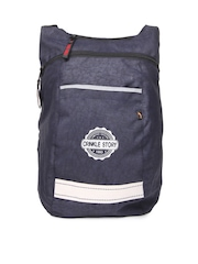 Red Chilli Unisex Navy Commuter Backpack