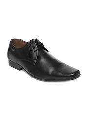 Red Tape Men Black Leather Formal Shoes