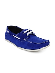 Red Tape Men Blue Suede Casual Shoes