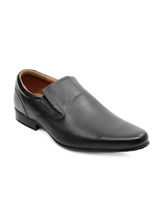 Red Tape Men Black Formal Shoes
