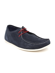 Red Tape Men Navy Suede Casual Shoes