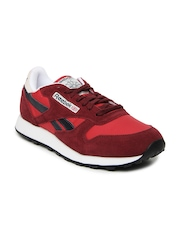 Reebok Classic Men Maroon & Red Running Shoes