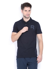Reebok Classic Men Navy Polo T-shirt
