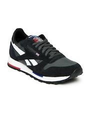 Reebok Classic Men Black & Grey Utility Sport Training Shoes