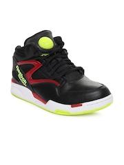 Reebok Classic Unisex Black Pump Omni Lite Basketball Shoes