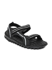 Reebok Men Black Duster LP Sandals