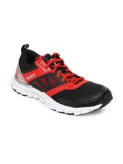 Reebok Men Black Realflex Speed 3.0 Running Shoes