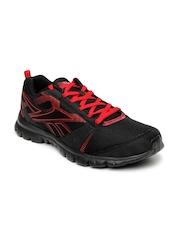 Reebok Men Black Superlite Traction LP Running Shoes