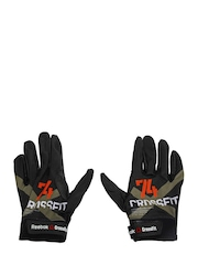 Reebok Men Black Crossfit Gloves