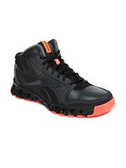 Reebok Men Grey & Black Zignano Profury Sports Shoes