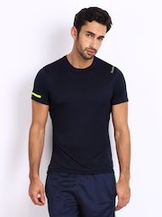 Reebok Men Navy T-shirt