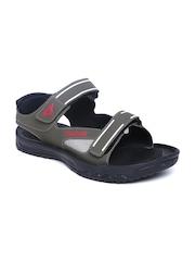 Men Olive Green Sports Sandals Reebok