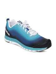 Reebok Men Blue & Black Sublite Duo Running Shoes